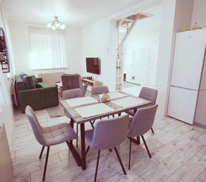 Оборудованный, мебелированный дом площадью 90м2